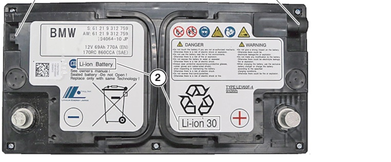 F80 F82 Lithium Ion Starter Battery