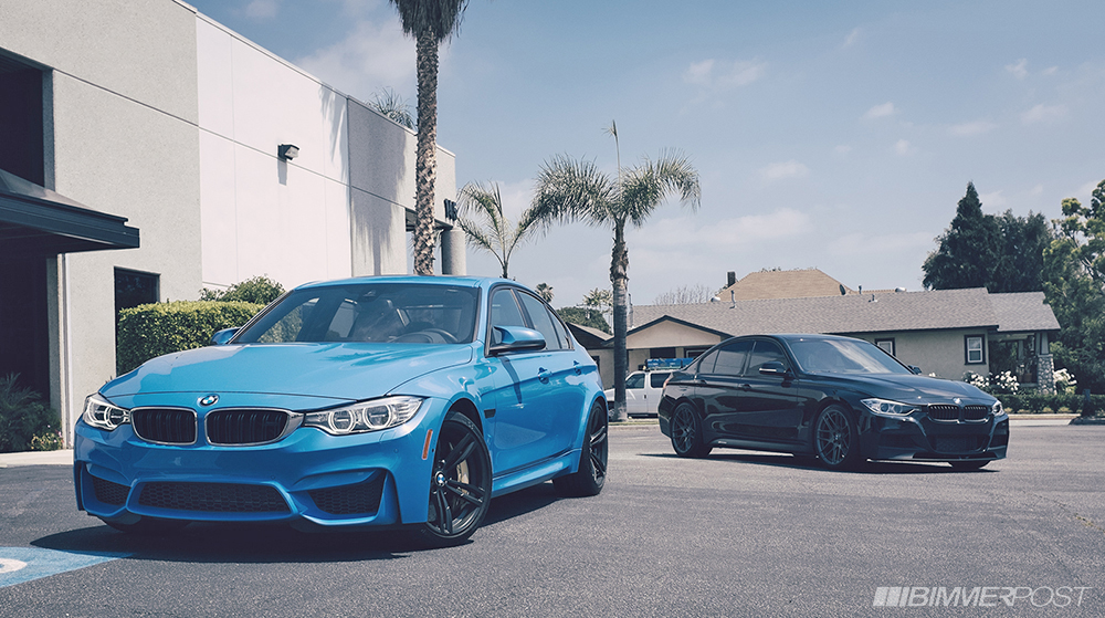 F80 M3 & F30 M Performance Guise Side by Side - BMW M3 and