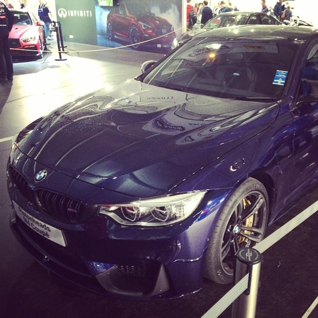 Bmw M4 Coupe In Tanzanite Blue Individual And M Performance Parts