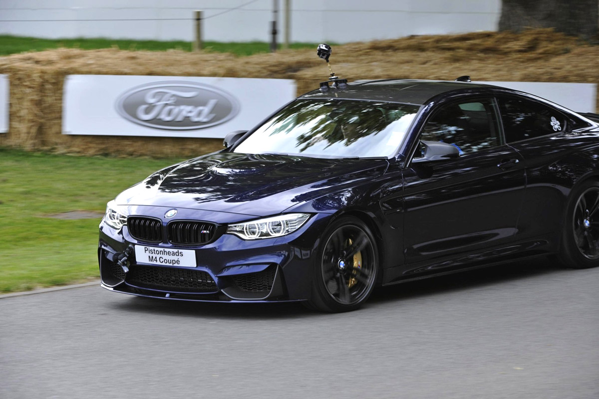 Bmw M4 Coupe In Tanzanite Blue Individual And M