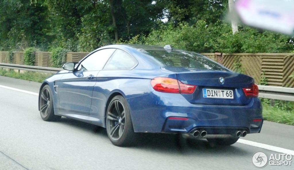 Tanzanite Blue M4 Coupe