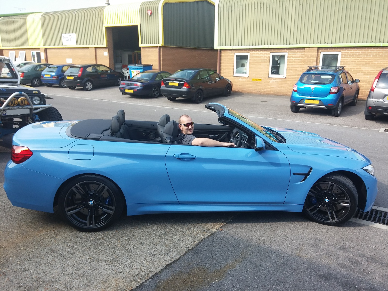 blue convertible bmw m4 - photo #47