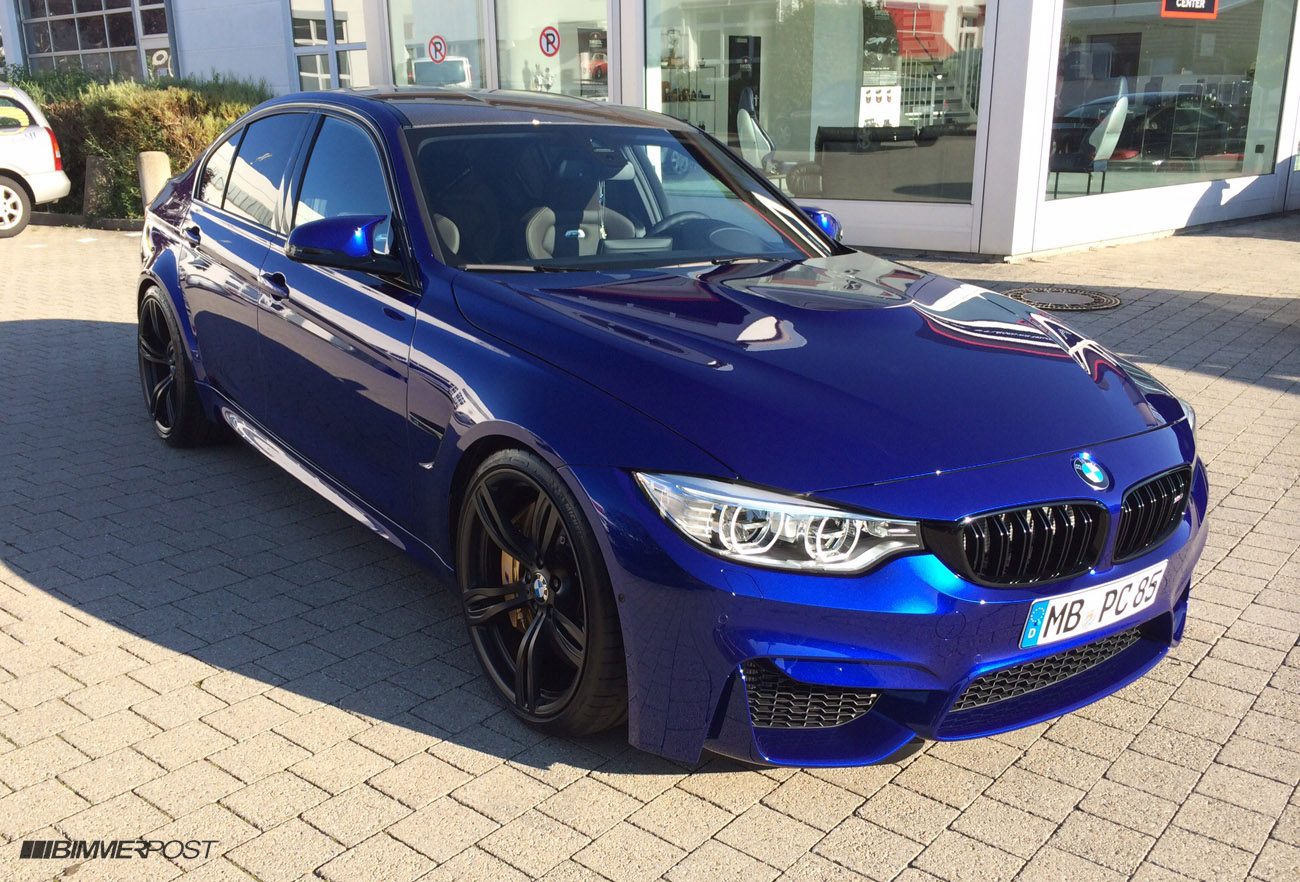individual san marino blue f80 m3 with cohiba brown interior. Black Bedroom Furniture Sets. Home Design Ideas