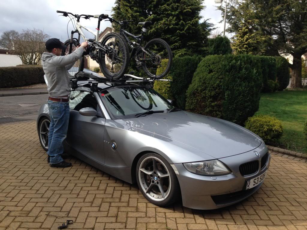 Bmw Z4 Bike Rack Women And Bike