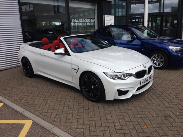F82 F83 Official Mineral White M4 Coupe Convertible
