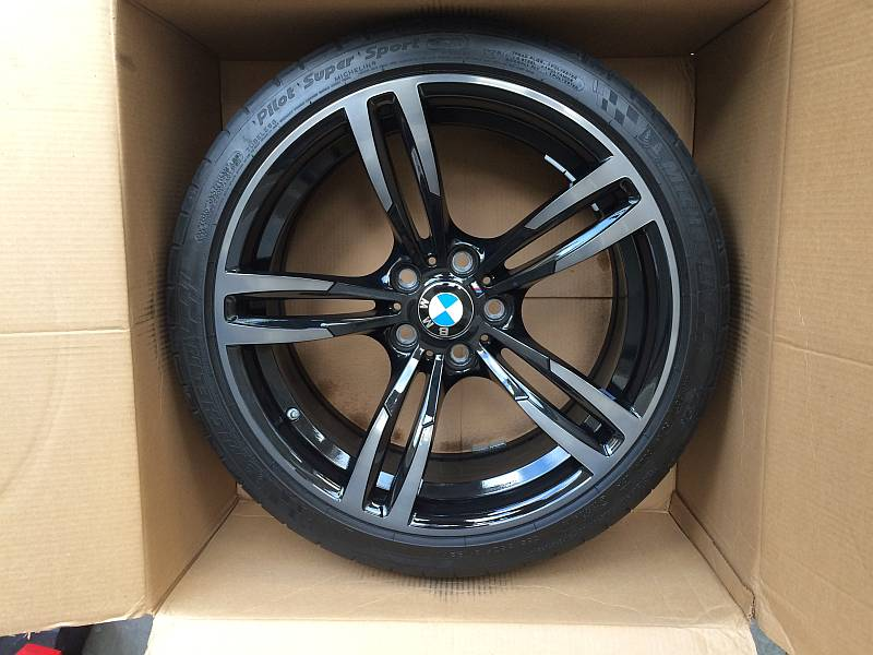 Bmw Style 437m Oem Black 19 Quot Wheels With Tires Tpms