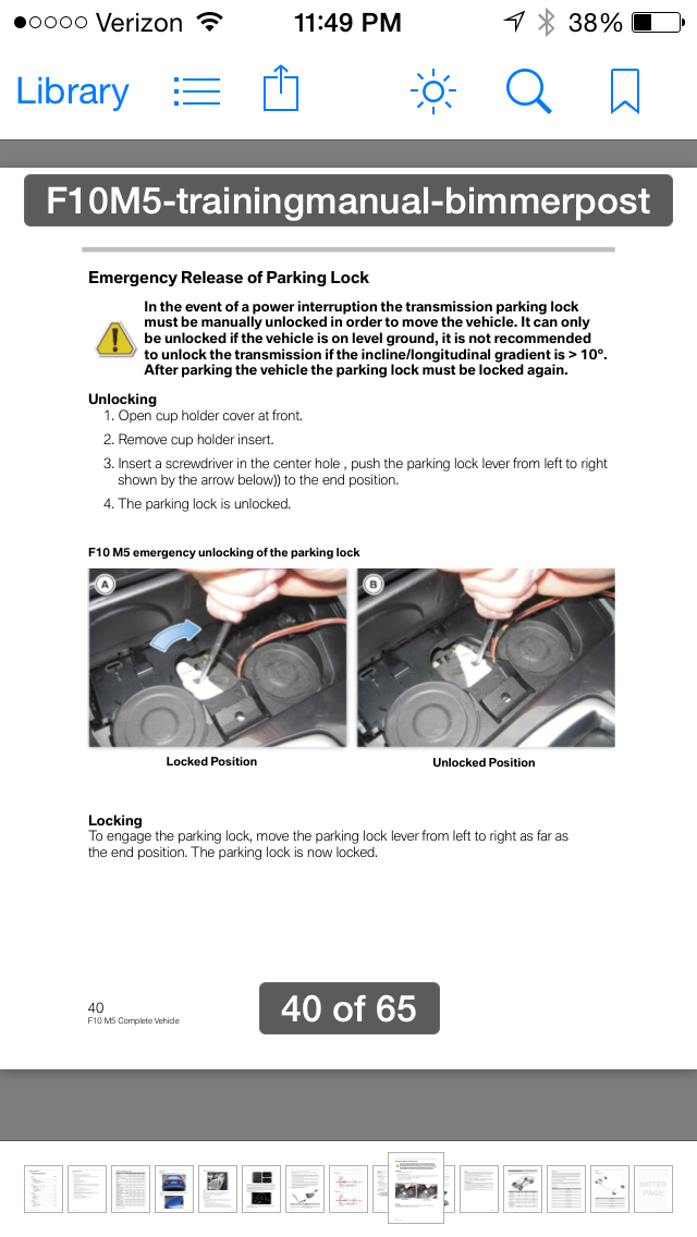 Dct Emergency Parking Unlock Neutral For Towing