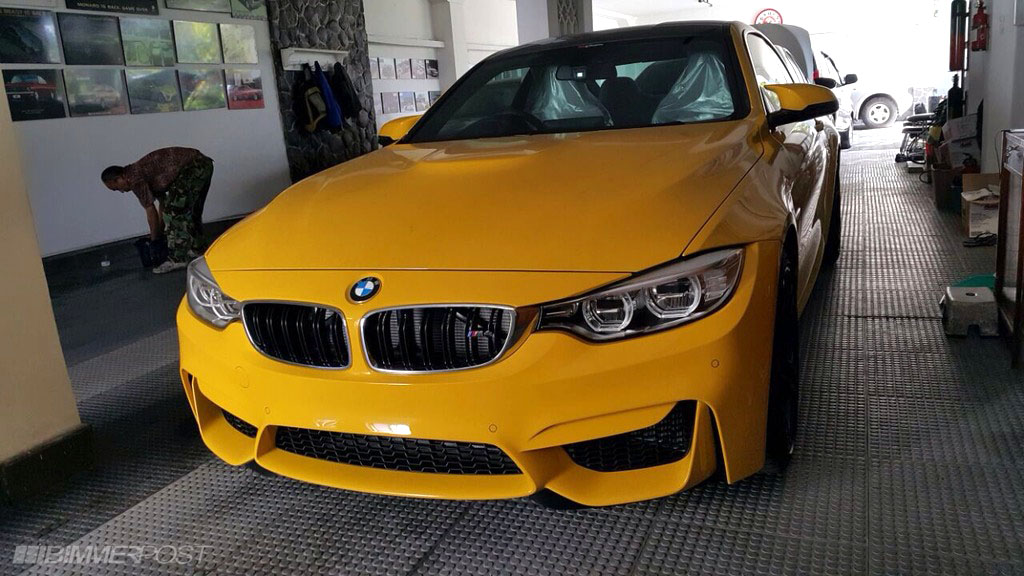 Bmw Individual F82 M4 Speed Yellow Moci Edition 1 Of 12