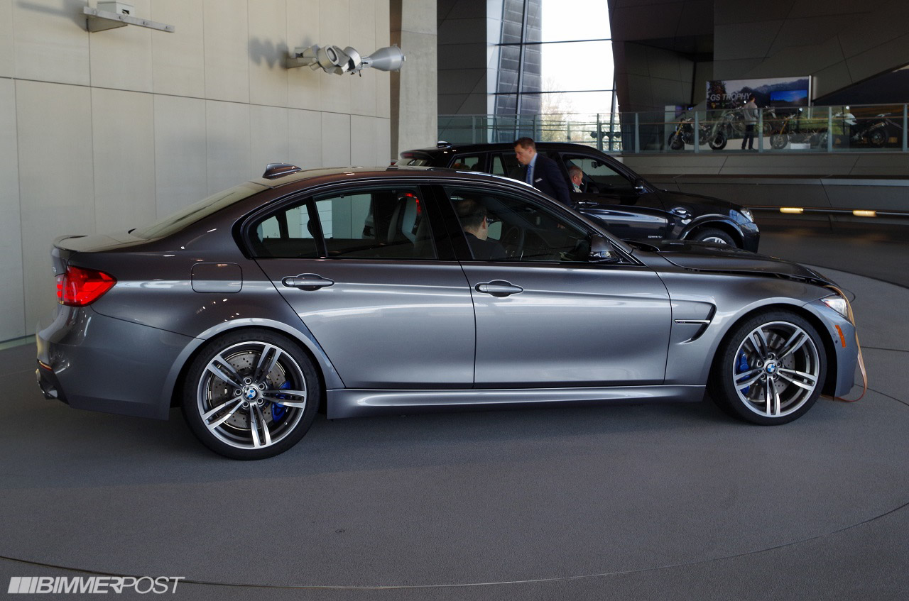 european delivery of f80 m3 in space gray individual paint