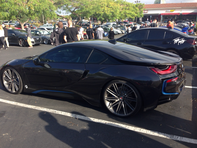 A Few Pics From Cars And Coffee Carlsbad Bonus I8 On 22s