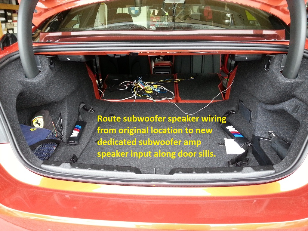 Diy Speaker And Subwoofer Upgrade Harman Kardon Based System How To Wire Up Subwoofers Attached Images
