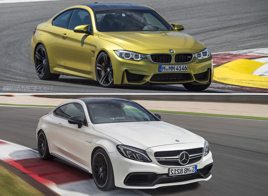 2017 Mercedes Amg C63s Coupe Vs Bmw M4 Tigerdroppings Com