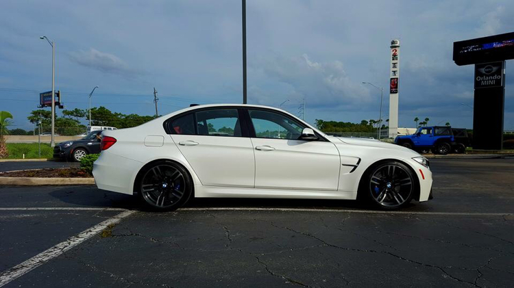 2016 F80 Lowered And Spaced Out