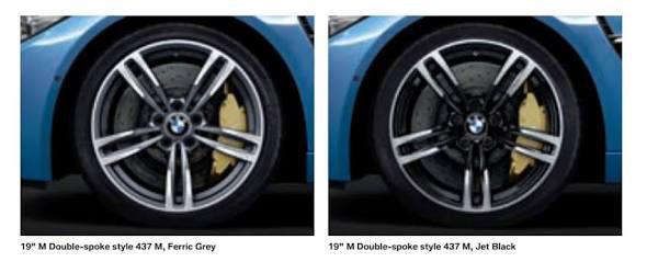 437 M Wheels Silver To Black