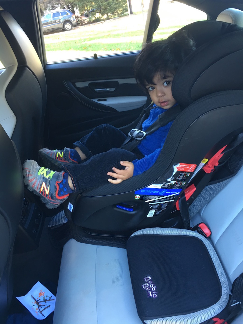 How Old For Car Seat