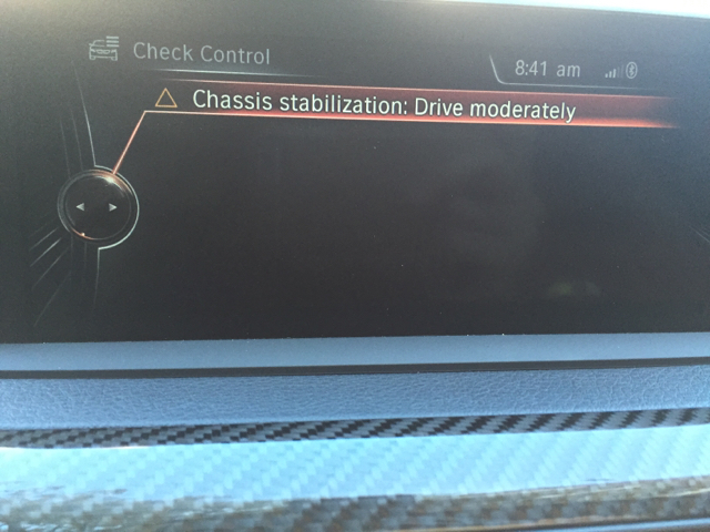Chassis Stabilization Error Code Bmw M3 And Bmw M4 Forum