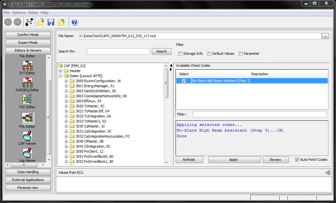 Coding Made Easier (Cheat Codes in E-Sys Launcher) - Page 3