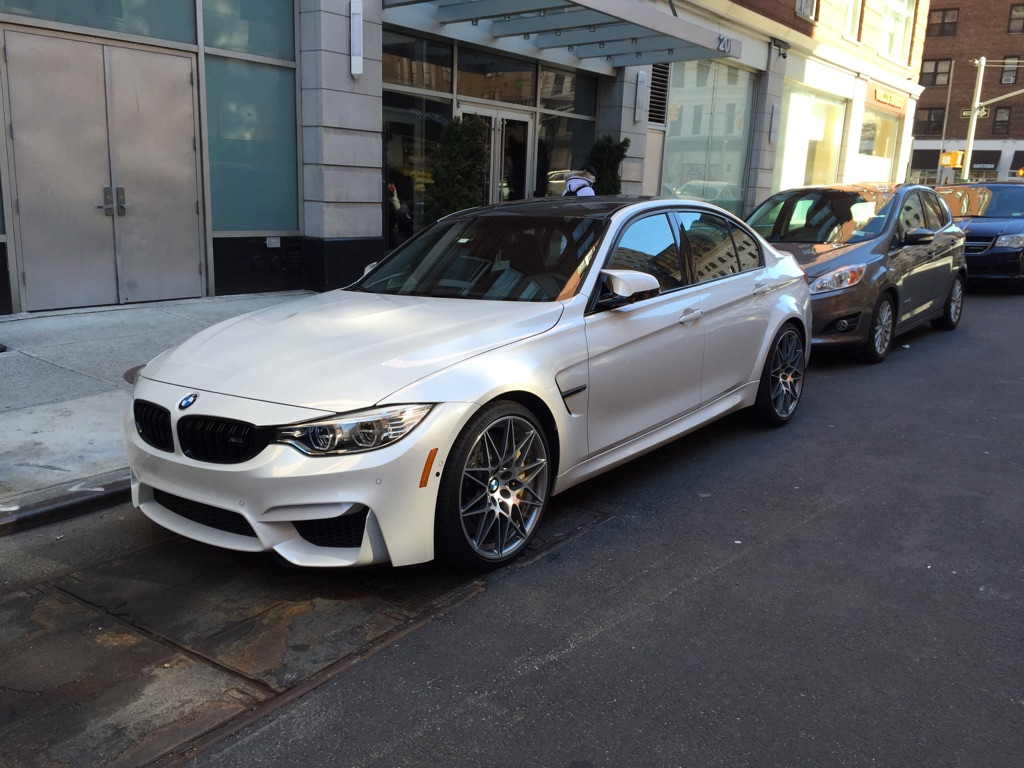 Zcp F80 M3 Spotted In Manhattan