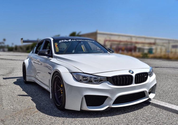 First Widebody F80 M3 About To Happen