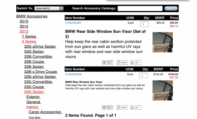 Rear and Side Window Sun Shade Visor Retrofit 66eab816438