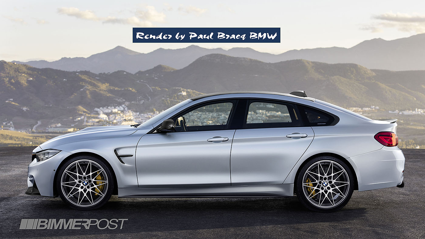bmw m3 and bmw m4 forum view single post m4 gran coupe or the real m3 render project. Black Bedroom Furniture Sets. Home Design Ideas