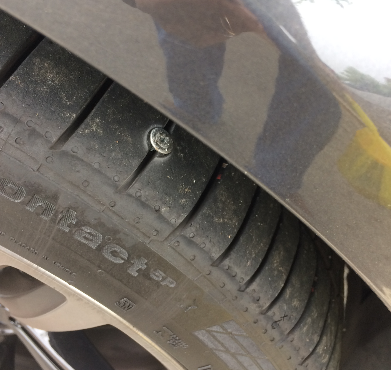 Nail in tire - plug or replace?