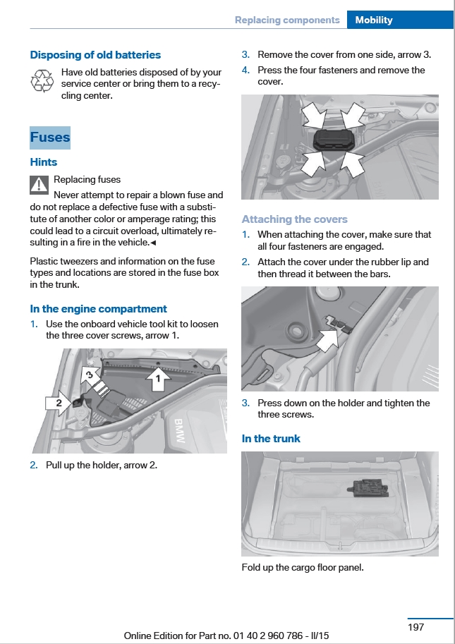 Where are the fuse boxses - BMW M3 and BMW M4 Forum | Bmw M4 Fuse Box |  | Bimmerpost