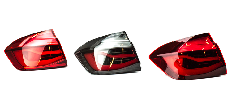 Clear Tail Lights F80 F30 Only