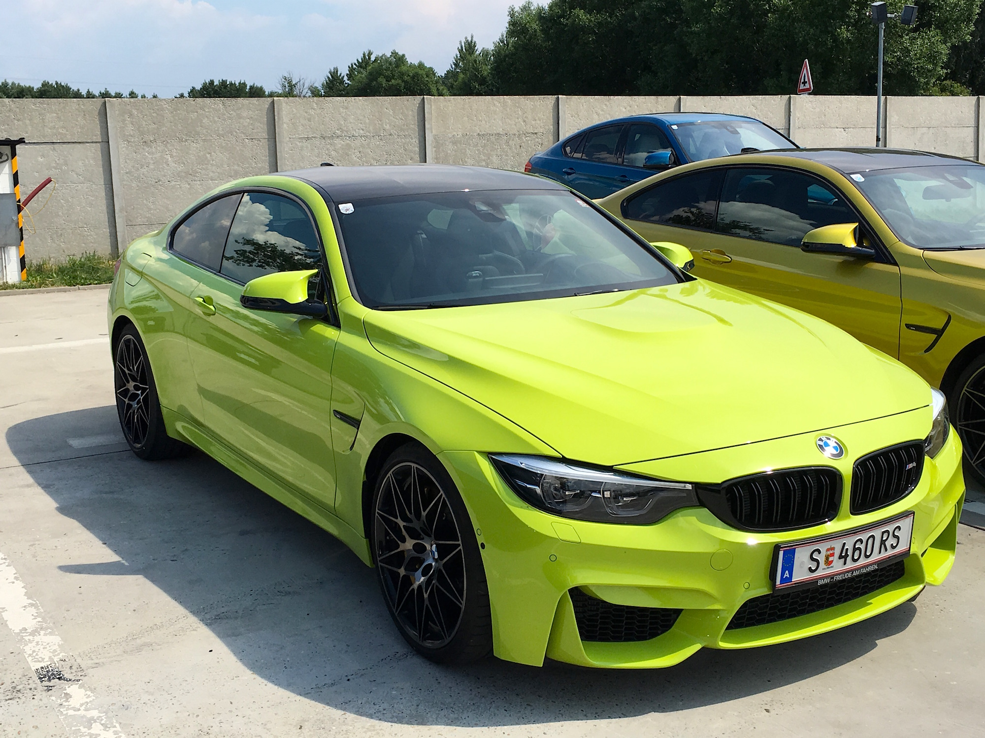 Neon Green Individual Bmw M4 M3 And Forum