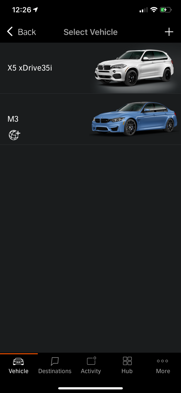 Bmw Connected App Is Not Showing The Right Car Graphic Bmw M3 And Bmw M4 Forum