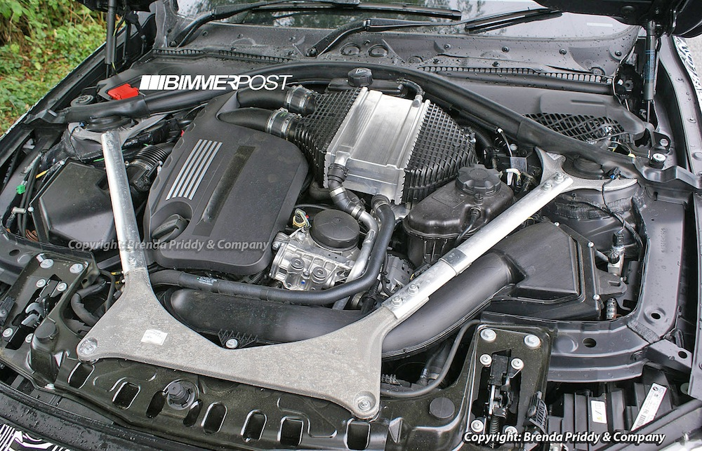 bmw 2014 f80 m3 s55 engine (turbo inline 6) physically exposed!  bimmerpost