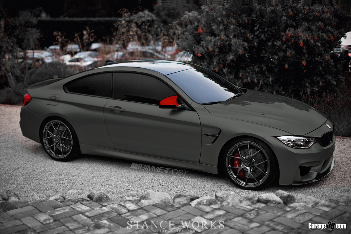 Bmw M4 Coupe Concept Color Mockups