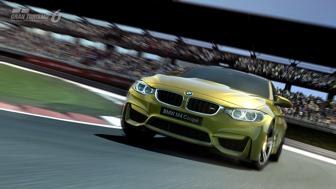 Bmw M4 Coupe Launches On Gran Turismo 6 W First Drive Video