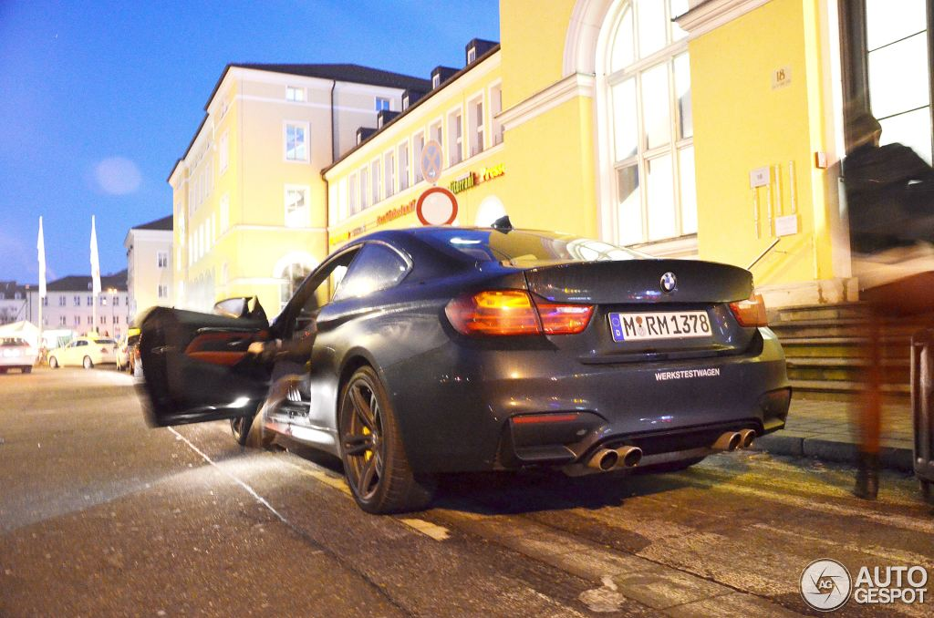 BMW M4 F82 Spotted in Regensburg