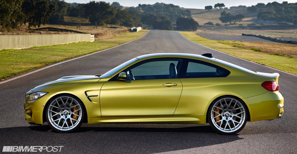 BMW M4 imagined with aftermarket wheels