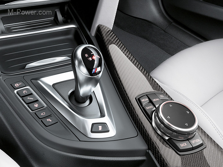 F8x Console Buttons (Near the shift lever)