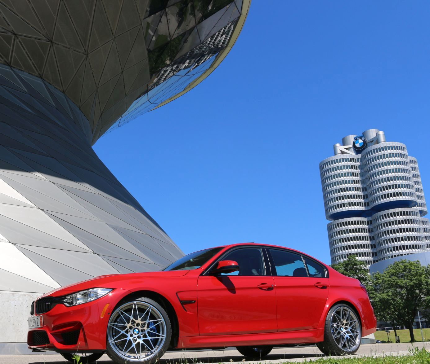 2016 Bmw M3: Premire Of The 2016 BMW M3 Competition Package In