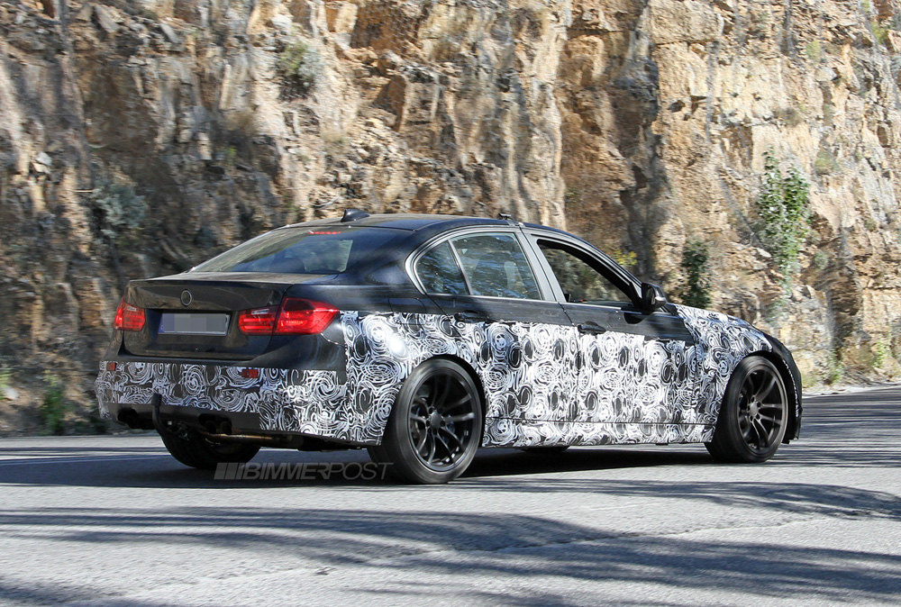 Revealed: 2014 BMW F80 M3 with M6/1M Style Front Bumper ...