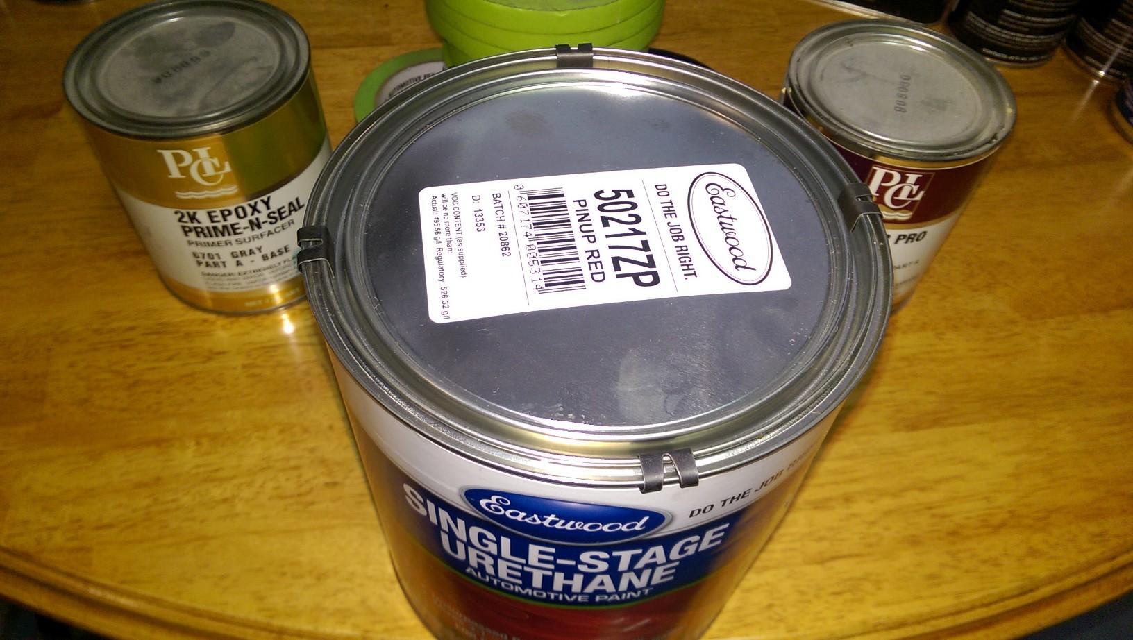 Valspar ppg eastwood automotive paint supplies for Automotive paint suppliers