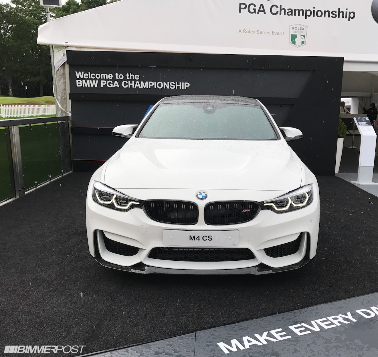 Bmw M3 Cs: M4 CS In Alpine White