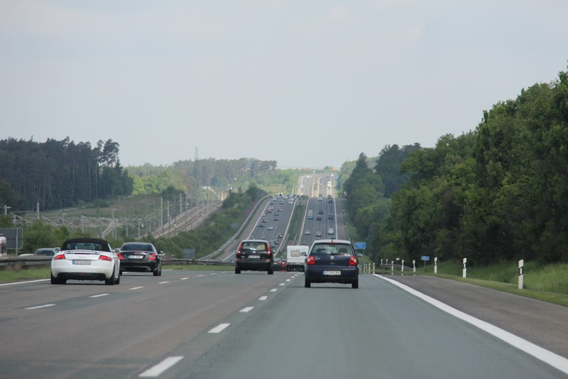 Name:  Autobahn A9 heading North out of Munich   3.jpg