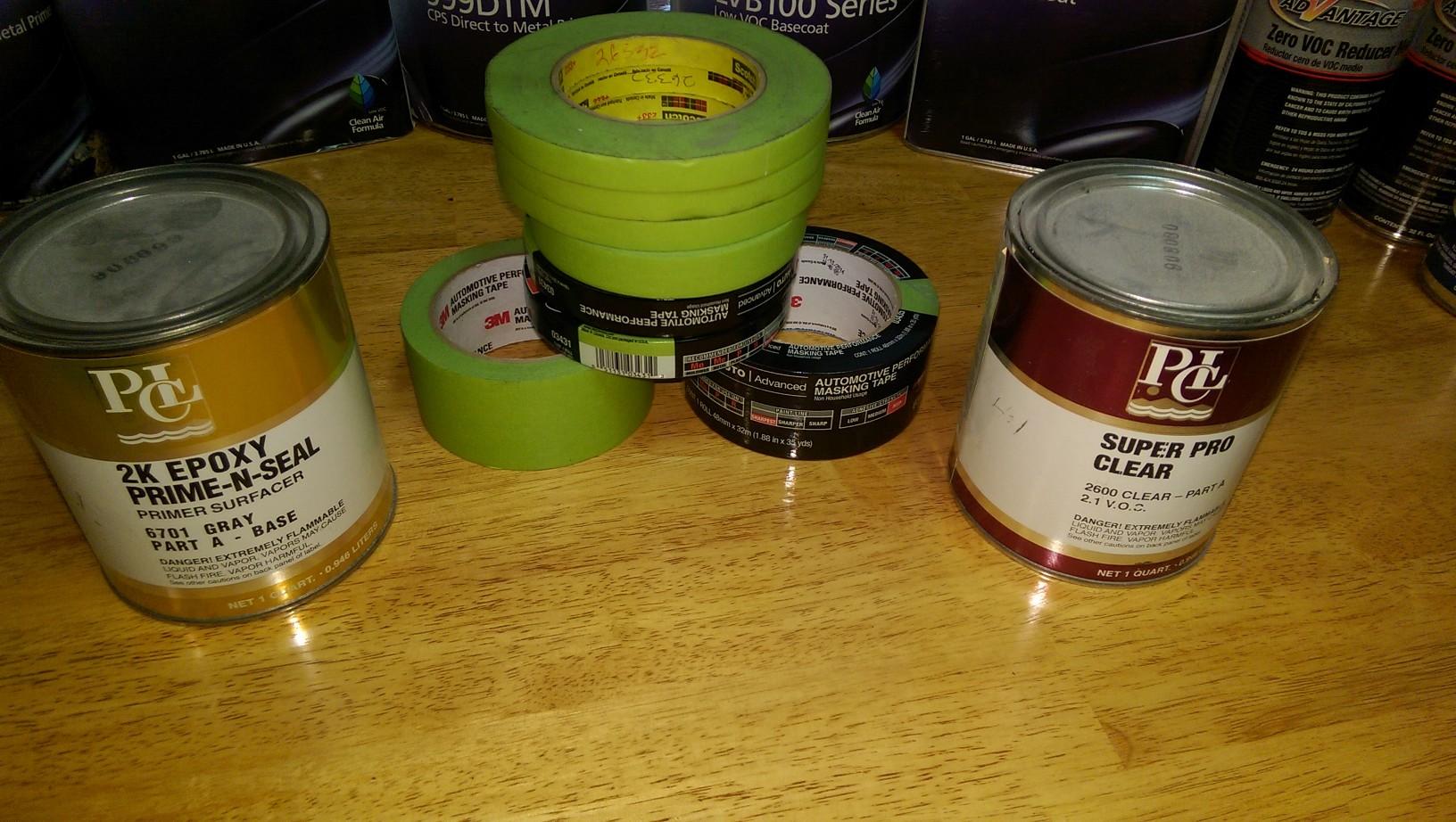Valspar ppg eastwood automotive paint supplies for Ppg automotive paint store
