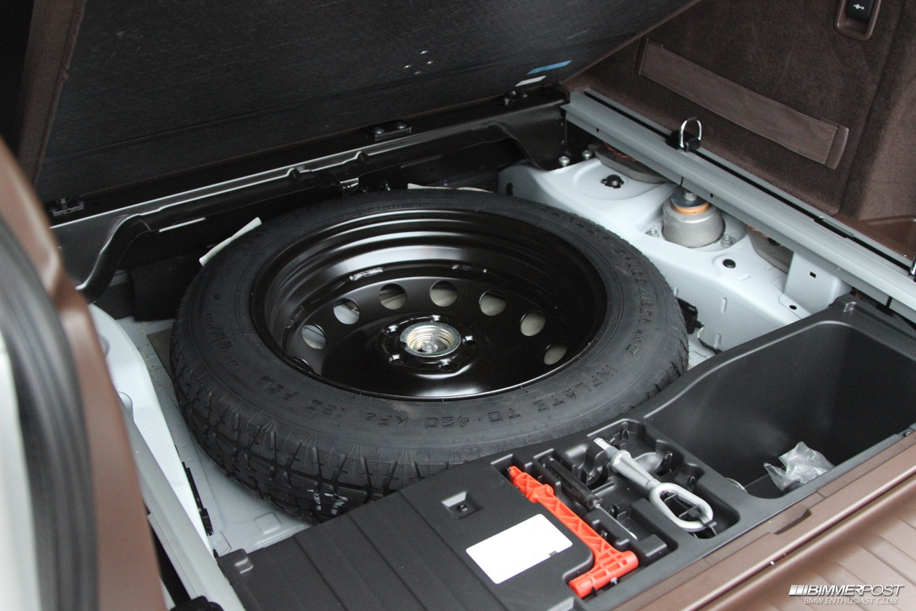 Bmw X3 Spare Tire Removal