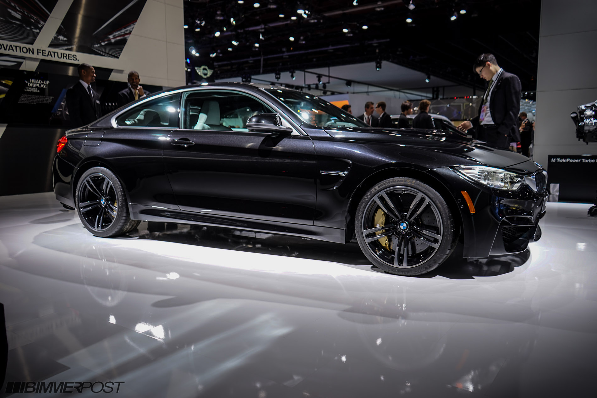 Bmw M4 In Black Sapphire From The Detroit Auto Show