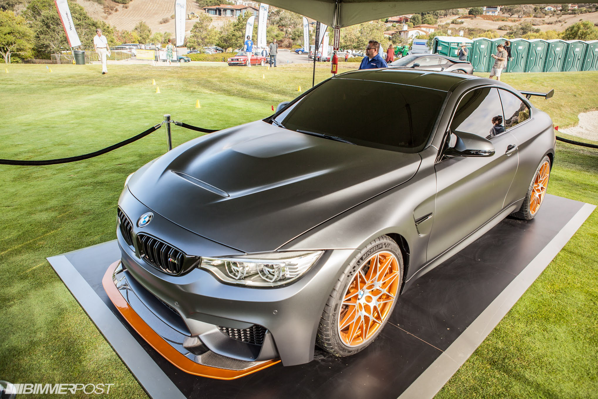 introducing the bmw m4 gts concept photos from pebble beach. Black Bedroom Furniture Sets. Home Design Ideas