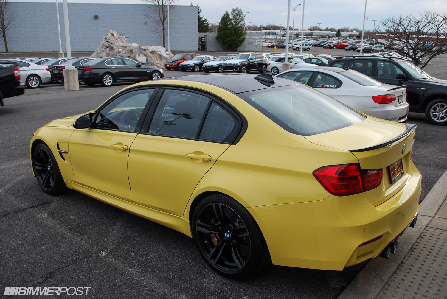 Dakar Yellow F80 M3 With M Performance Parts Updated