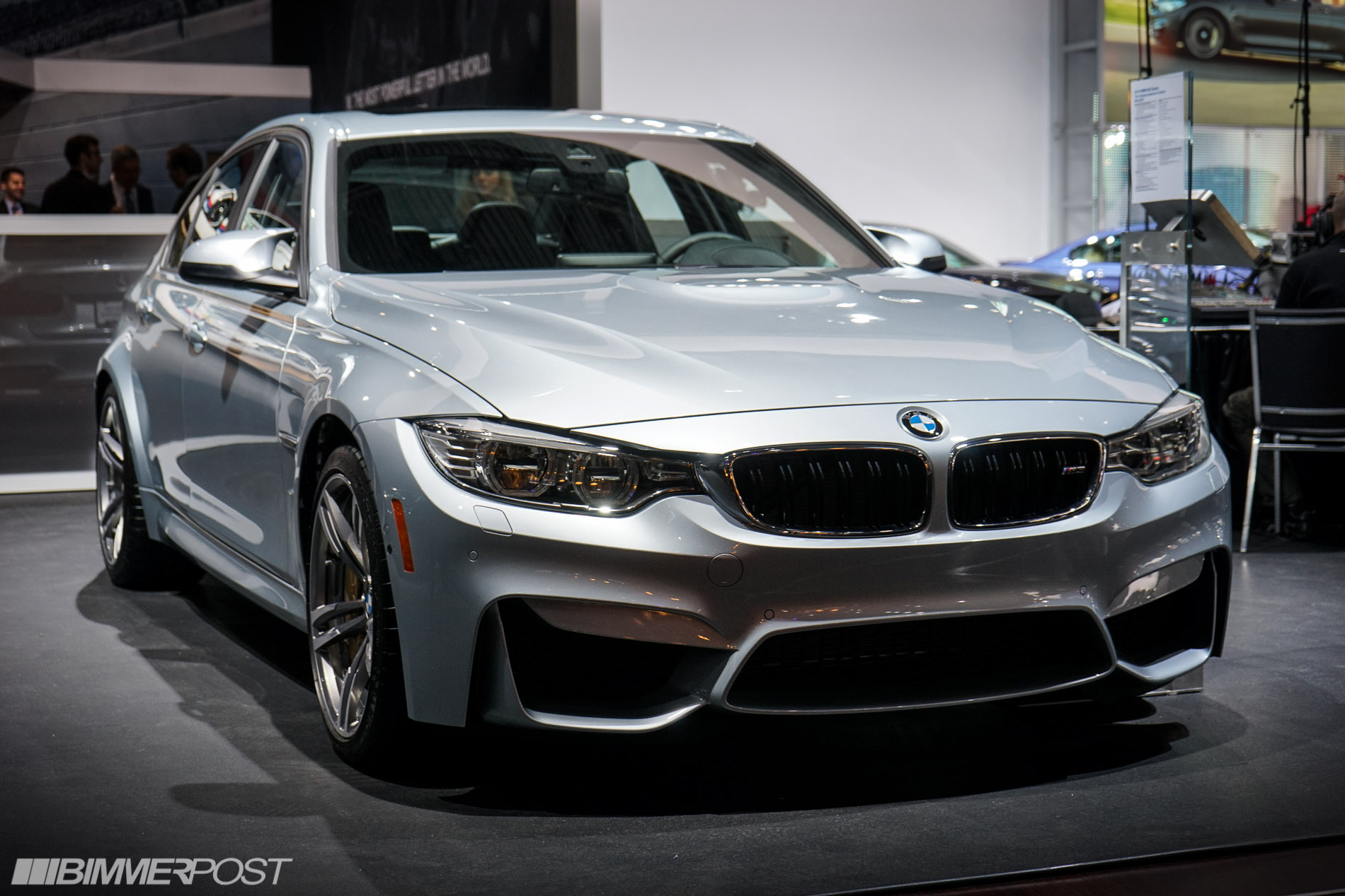 2014 nyias bmw m3 f80 in silverstone ii. Black Bedroom Furniture Sets. Home Design Ideas