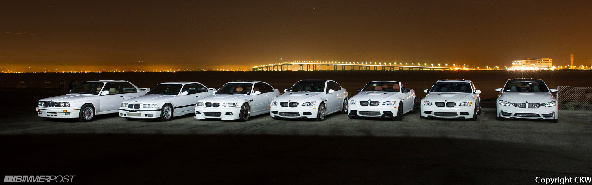 The Ultimate White M3 Photoshoot With Bonus Pic