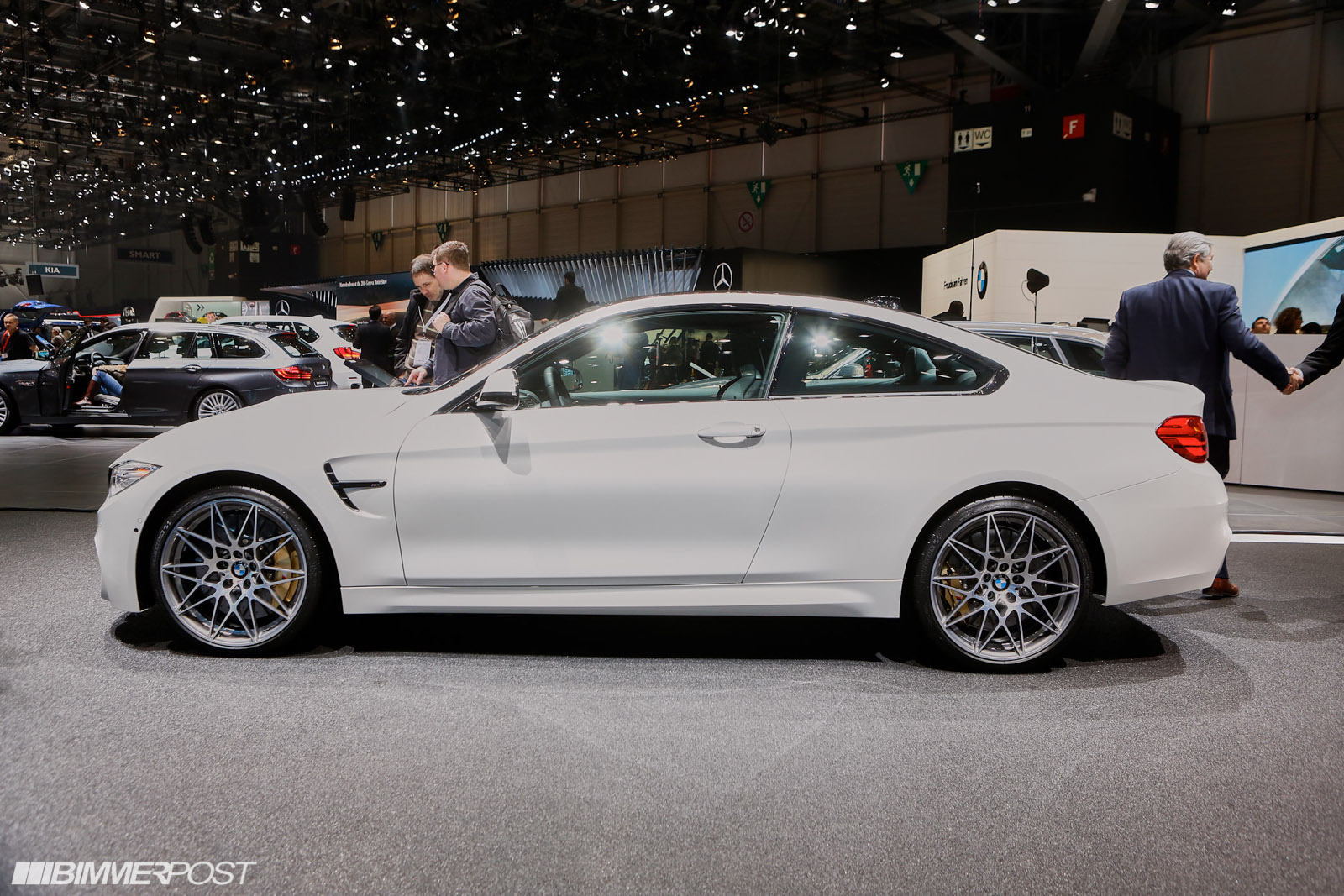 M4 Competition Package >> Geneva 2016 Bmw M4 Competition Package Bmw M3 And Bmw M4