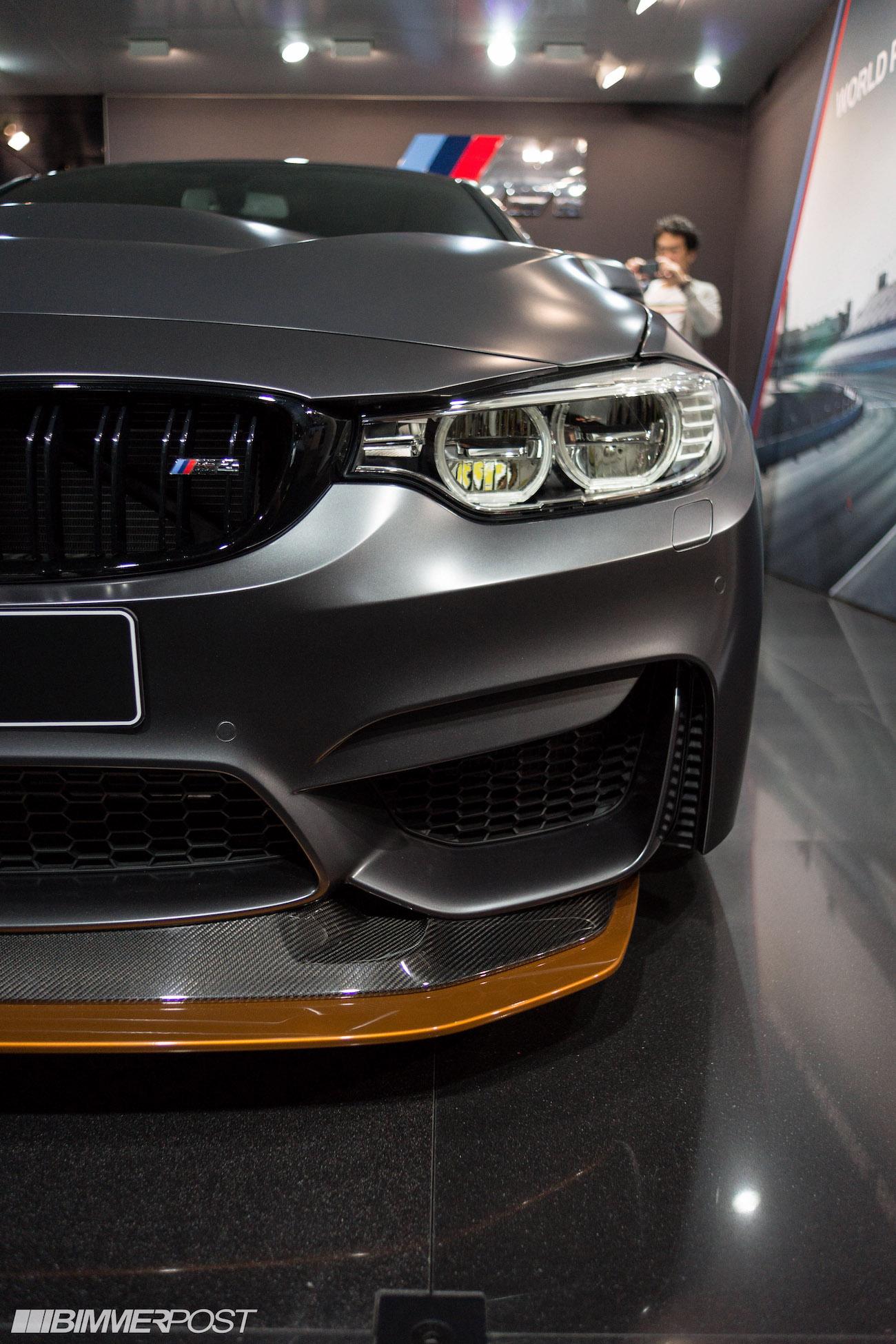 Bmw M4 Gts World Debut At 2015 Tokyo Motor Show